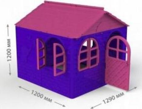 Casuta de joaca MyKids 02550/1 Pink/Violet - Mid de la Ivenik Concept Srl