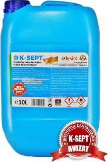 Igienizant pentru maini 10L alcool 75% de la Kynita Srl