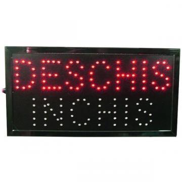 Panou cu reclama luminoasa LED Deschis-Inchis