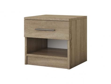 Noptiera Beta, Sonoma, 45x44x42 cm de la CB Furniture Srl