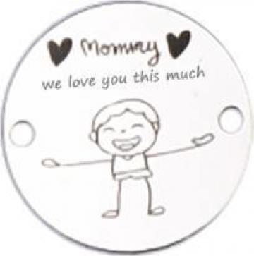 Bratara Mommy, we love you this much, banut Ag 925