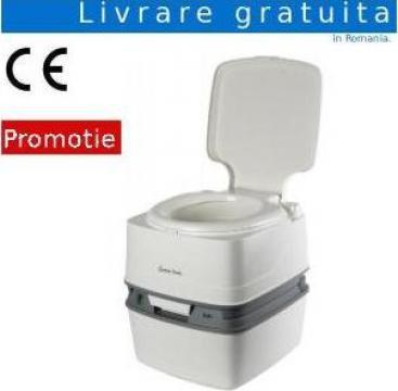 Toaleta ecologica portabila cu bazin cu apa de la