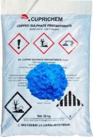 Sulfat de cupru de la Kynita Srl