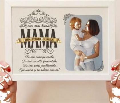 Rama personalizata Cea mai buna mama