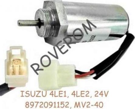 Solenoid 24V, Isuzu 4LE1, 4LE2, Case, Kobelco, Hitachi de la Roverom Srl