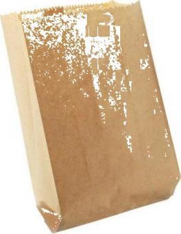 Punga hartie natur 25+8x36cm, 5 kg/bax de la Cristian Food Industry Srl.