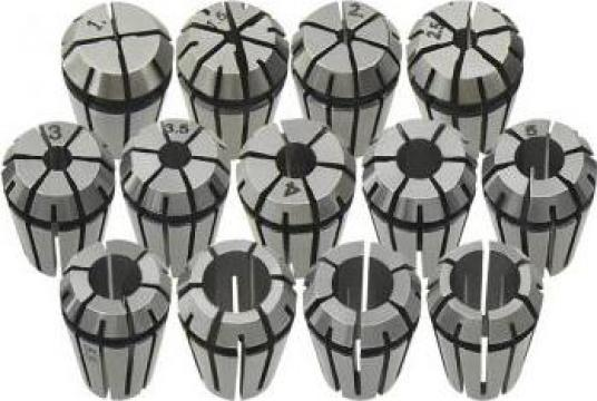 Coliere ER11 13 buc., set instrumente de strunjire