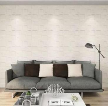Panouri de perete 3D, 24 buc., 0,5 x 0,5 m, 6 m2