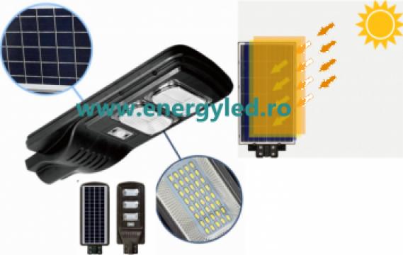 Lampa solara led 90W senzor si telecomanda iluminat stradal de la Energyled Digitalight