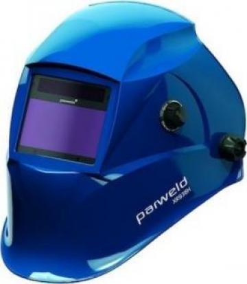 Masca sudor de cap automata cu celule foto XR938HBL albastra de la Sudometal Srl