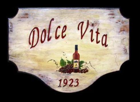 Firma luminoasa rustica italiana de la Rosca Srl