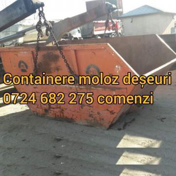 Container pentru moloz, deseuri, mobila veche de la Curatenie Lupulescu Robert