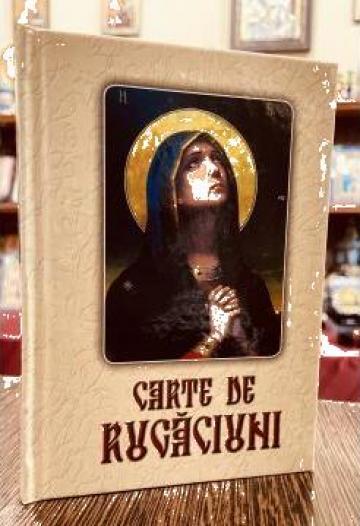 Carte de rugaciuni cu scris mare cartonata de la Candela Criscom Srl.