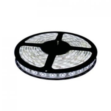 Banda LED 5M, 60LED/M, 5050, 14.4W/M, 6500K, 12VDC, IP20 de la Spot Vision Electric & Lighting Srl