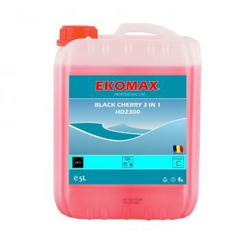 Gel mixt canistra 5 litri Black Cherry 3 in 1 de la Ekomax International Srl
