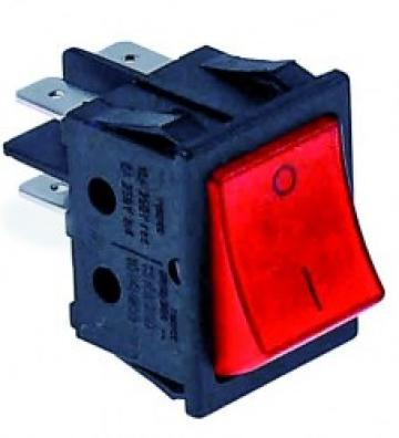 Buton rosu 2 poli 16A 250V de la Kalva Solutions Srl