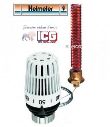 Cap termostat K cu senzor de imersie sau de contact
