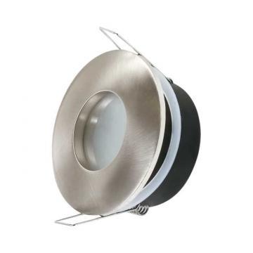 Carcasa spot LED GU10/GU5.3, IP54, nichel Spotti-IP de la Spot Vision Electric & Lighting Srl