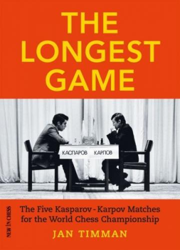 Carte, The Longest Game - Jan Timman de la Chess Events Srl