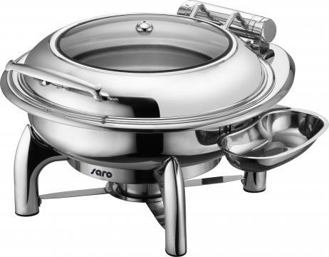Chafing dish electric cu inchidere automata, rotund Jessie de la Clever Services SRL