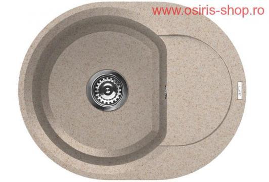 Chiuveta Easy Round 600 de la Osiris Design Construct