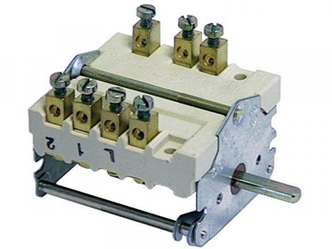 Comutator cu 4 pozitii (0-1-2-3), 2 poli de la Kalva Solutions Srl