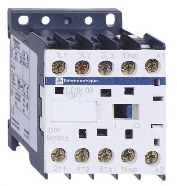 Contactor 5.5kW, 230V 50/60Hz, 1NO