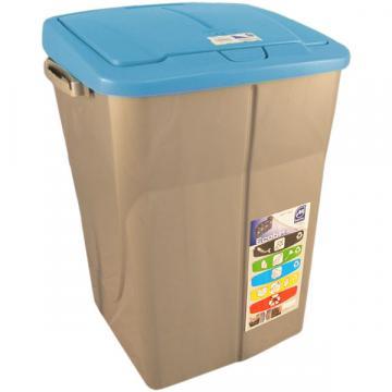 Cos gunoi modular Eco Bin, sistem push, 45 litri