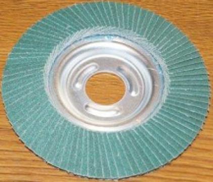 Disc lamelar inox 115x22 P120, ceramic de la Tehnic Depo Srl