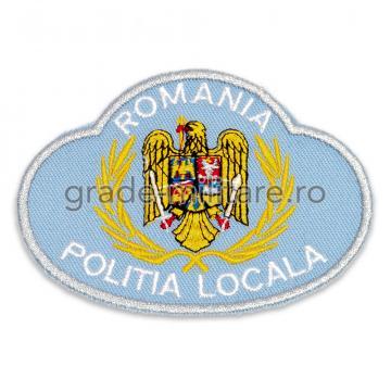 Emblema coifura Politia Locala 1 de la Hyperion Trade