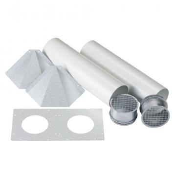 Kit perete extern tubulatura ventilatie Eos 100H