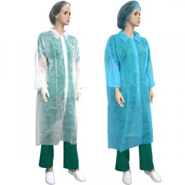 Halat protectie laborator PPSB alb, albastru, XXL