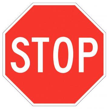 Indicator trafic rutier Stop (Oprire), reflectorizant de la Sirius Distribution Srl