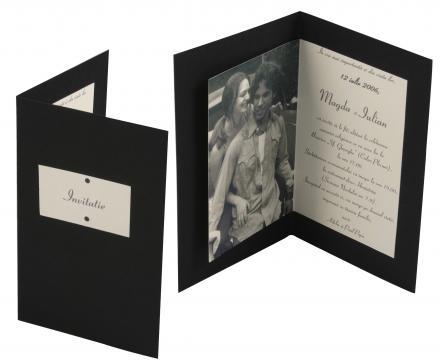 Invitatii de nunta personalizate INVN036 de la Apia Prest Srl
