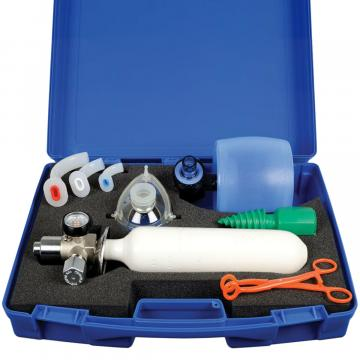 Kit de resuscitare cu butelie de oxigen Speed 2 Dinn