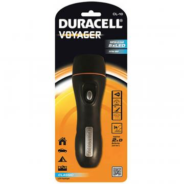 Lampa Voyager 5led 2xd cl-10, Duracell