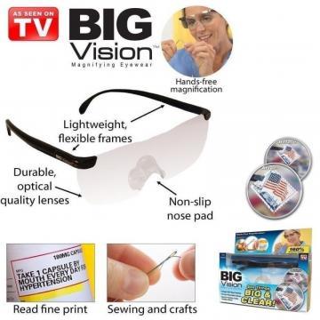 Ochelari de marit cu lupa Big Vision de la On Price Market Srl
