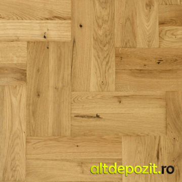 Parchet lemn masiv stejar natur clasa B 20mm de la Altdepozit Srl