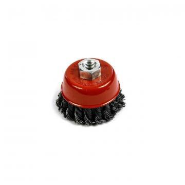 Perie sarma rotativa cu toroane Strend Pro TCB-500, 100 mm