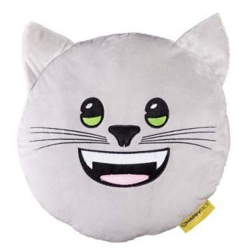 Perna decorativa Emoji Pisica Happy Face de la Mobilab Creations Srl