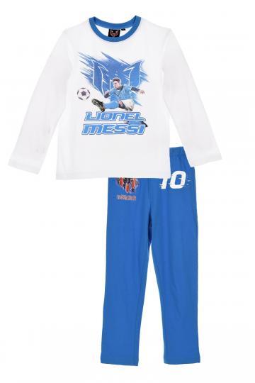 Pijama baieti, Messi, bumbac, bleu de la A&P Collections Online Srl-d