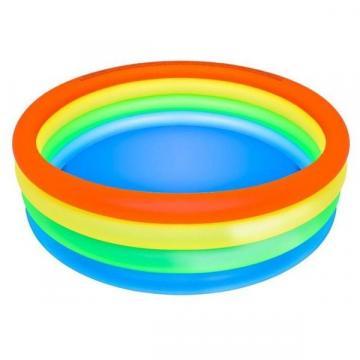 Piscina gonflabila 150 x 40 cm, cu 4 inele multicolor, JRH de la Startreduceri Exclusive Online Srl - Magazin Online - Cadour