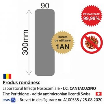 Placa antimicrobiana P (2 bucati/set) de la Sirius Distribution Srl