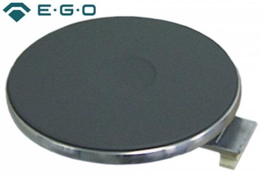 Plita electrica rotunda cu inel exterior inox, 180mm, 2000W