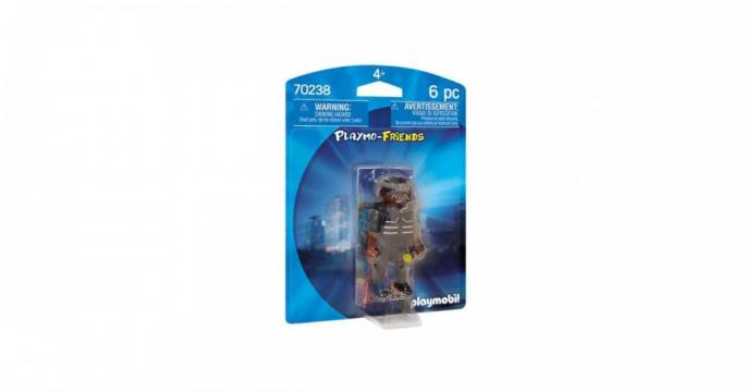 Figurine jucarie Politist Swat Playmobil 70238