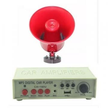 Portavoce-megafon auto 12V cu MP3 inregistrare si slot USB de la Startreduceri Exclusive Online Srl - Magazin Online - Cadour