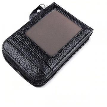 Portofel unisex cu anti-scanare carduri Lock Wallet