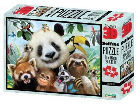 Puzzle 3D 500 piese Zoo de la Chess Events Srl