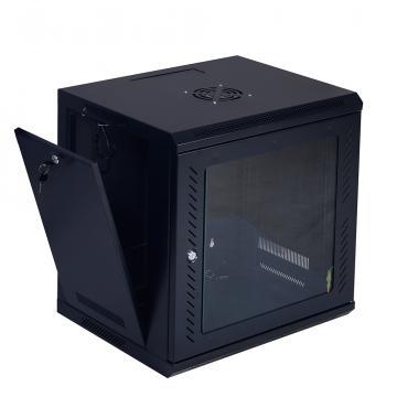 Rack cabinet de podea 32U, D:800x800x1610 mm, 80 kg, negru