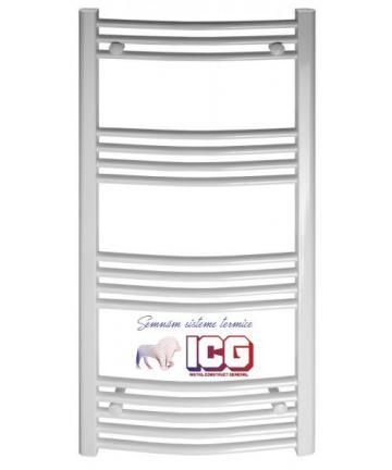 Radiator portprosop curbat 500x800 de la ICG Center